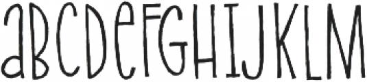 Onion Bagel otf (400) Font UPPERCASE