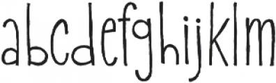 Onion Bagel otf (400) Font LOWERCASE