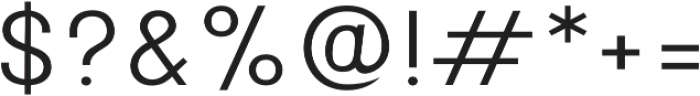 Onix Light otf (300) Font OTHER CHARS