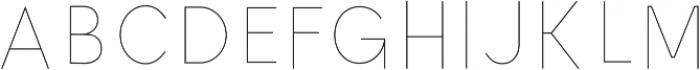 Ontario Inline otf (400) Font UPPERCASE