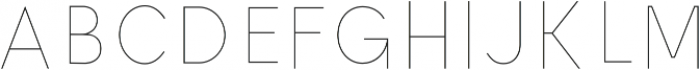 Ontario Inline otf (400) Font LOWERCASE