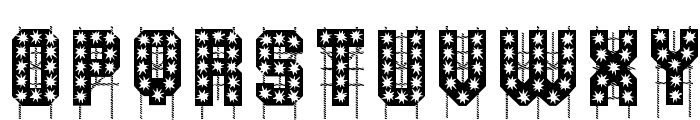 On The Tops Lights Font UPPERCASE