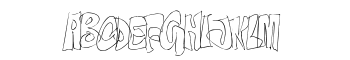 OnTheEdge-Regular Font UPPERCASE