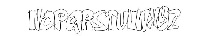 OnTheEdge-Regular Font LOWERCASE