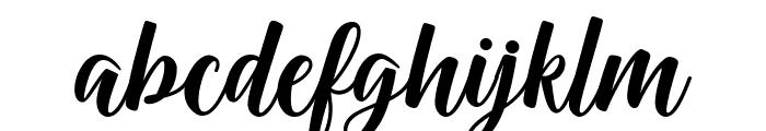 Onadio Font LOWERCASE