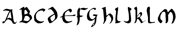 Onciale PhF Font UPPERCASE