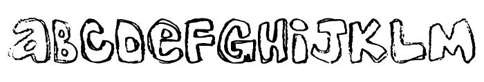 One Lousy Bottom Font UPPERCASE