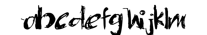 OneMiguel Shaded Font LOWERCASE