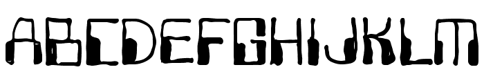 OneNation-Regular Font LOWERCASE