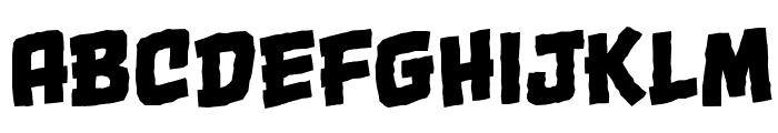 OneTwoPunchBB Font LOWERCASE