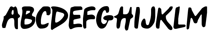 Only Fools & Horses Font UPPERCASE
