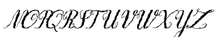 Only One Dollar Demo Italic Font UPPERCASE