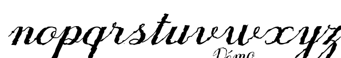 Only One Dollar Demo Italic Font LOWERCASE