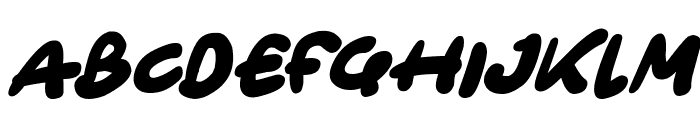 Only Organic Italic Font UPPERCASE