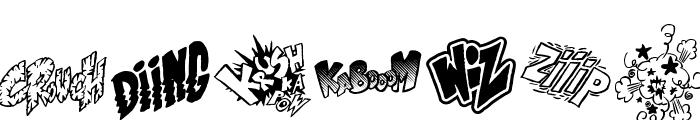 OnomatoVlam Font UPPERCASE