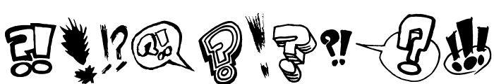 Onomatopaf Font OTHER CHARS