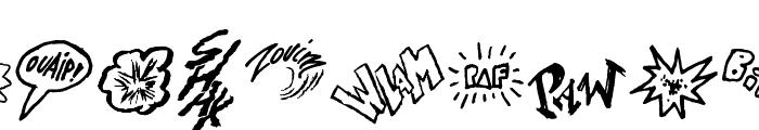 Onomatopaf Font UPPERCASE
