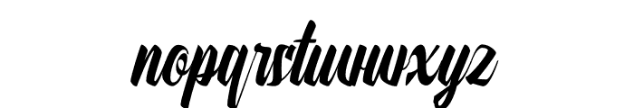 Onthel Font LOWERCASE
