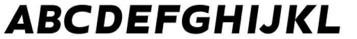 Ondo Bold Italic Font UPPERCASE