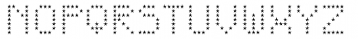 One AM Regular Font UPPERCASE