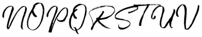 One Day Regular Font UPPERCASE
