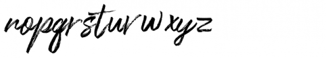 One Day Regular Font LOWERCASE
