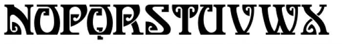 One Good Urn NF Font UPPERCASE
