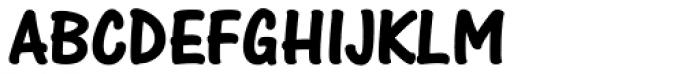 One Stroke Script Bold Font UPPERCASE