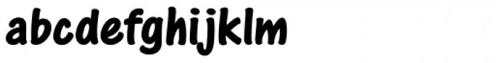 One Stroke Script Bold Font LOWERCASE