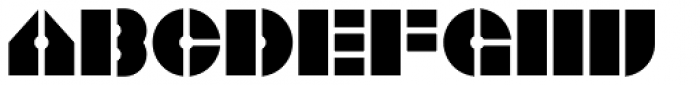 One Ton Steel Font LOWERCASE
