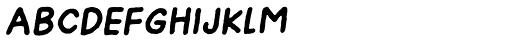 Onion Mill Italic Font UPPERCASE