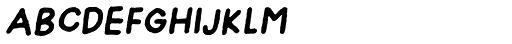 Onion Mill Italic Font LOWERCASE