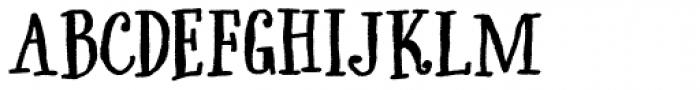 Only Kidding Font UPPERCASE