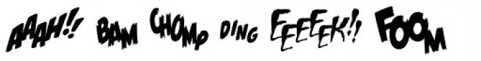 Onomatopedia Source Font LOWERCASE