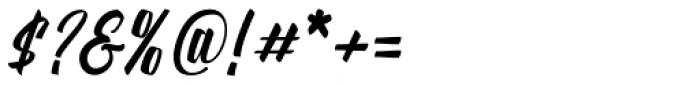 Onthel Regular Font OTHER CHARS