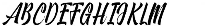 Onthel Regular Font UPPERCASE