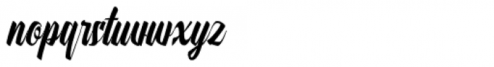 Onthel Regular Font LOWERCASE
