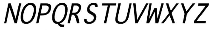 Onuava Italic Font UPPERCASE