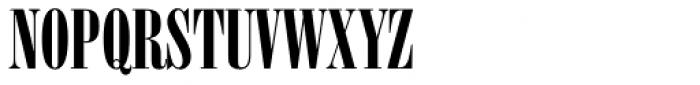 Onyx Font UPPERCASE