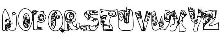 Oogie Boogies Font UPPERCASE