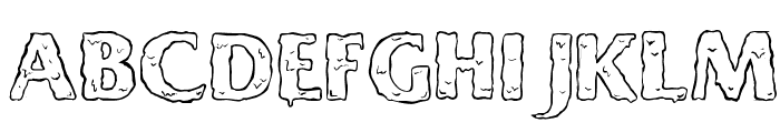 Ooky Font UPPERCASE