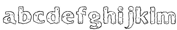 Ooky Font LOWERCASE