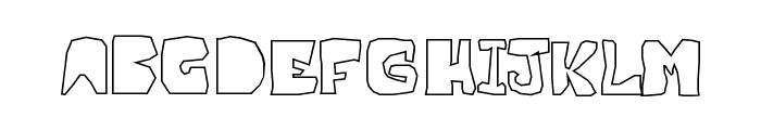 OPN Malatashito Naked Font LOWERCASE