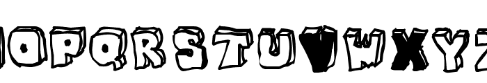 OPN StunFillaWenkay Font UPPERCASE