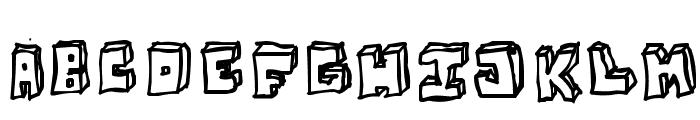 OPN StunFillaWenkay Font LOWERCASE