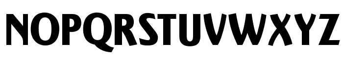 OPTIActon-Heavy Font UPPERCASE
