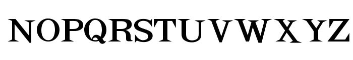 OPTIAdrift Font UPPERCASE