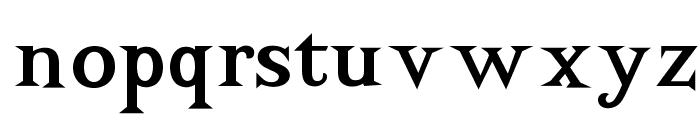 OPTIAdrift Font LOWERCASE