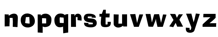 OPTIAdset Font LOWERCASE