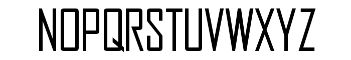 OPTIAgency-Gothic Font LOWERCASE